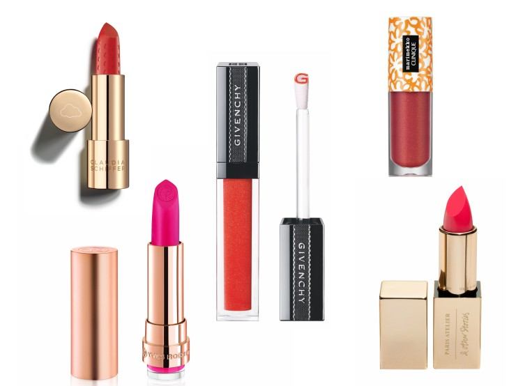 marimekko x clinique other stories givenchy yves rocher lipstick claudia schiffer