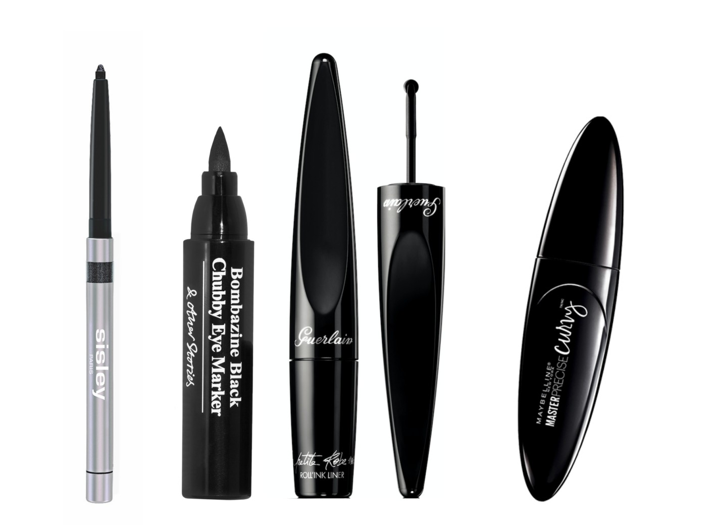 eyeliners guerlain sisley maybelline & other stories