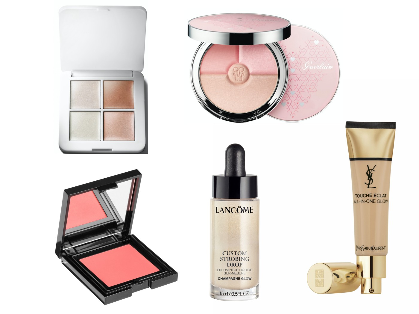 guerlain météorites ysl touche éclat custom strobing drop lancôme & other stories rms beauty