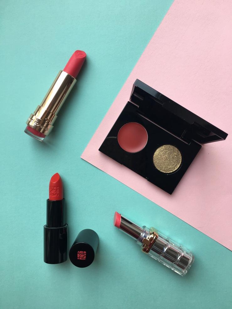 yves rocher l'oréal paris color riche shine Annayaké treatment lipstick
