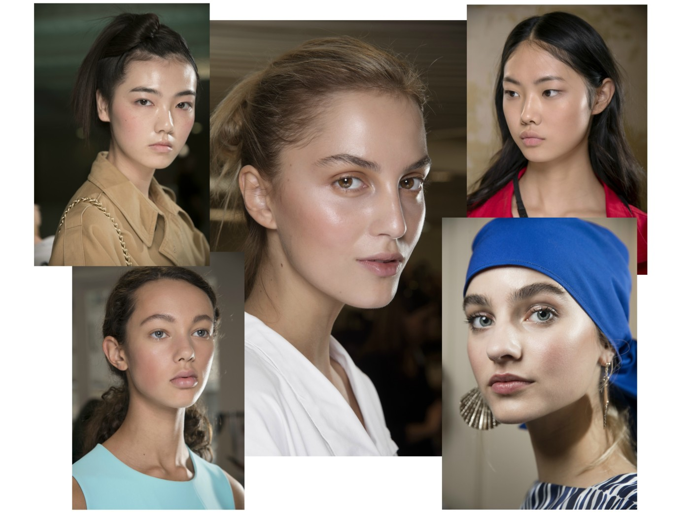 nude catwalk ss18 mac cosmetics