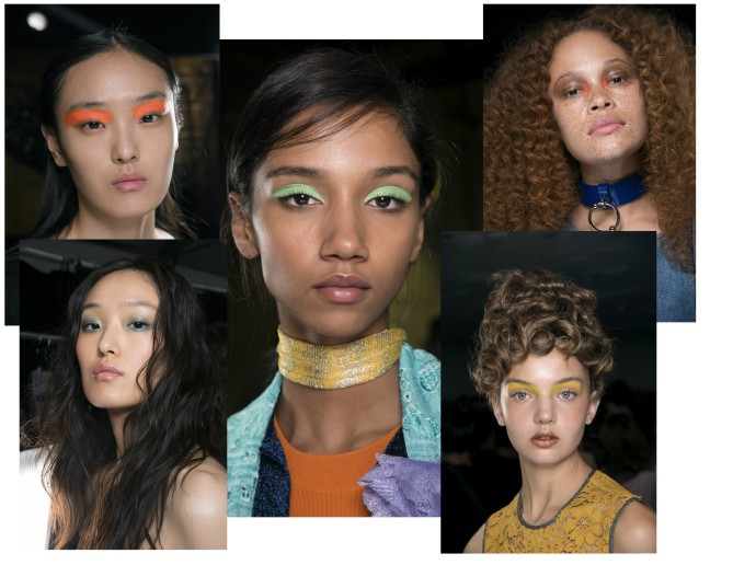 spring make-up trend colour