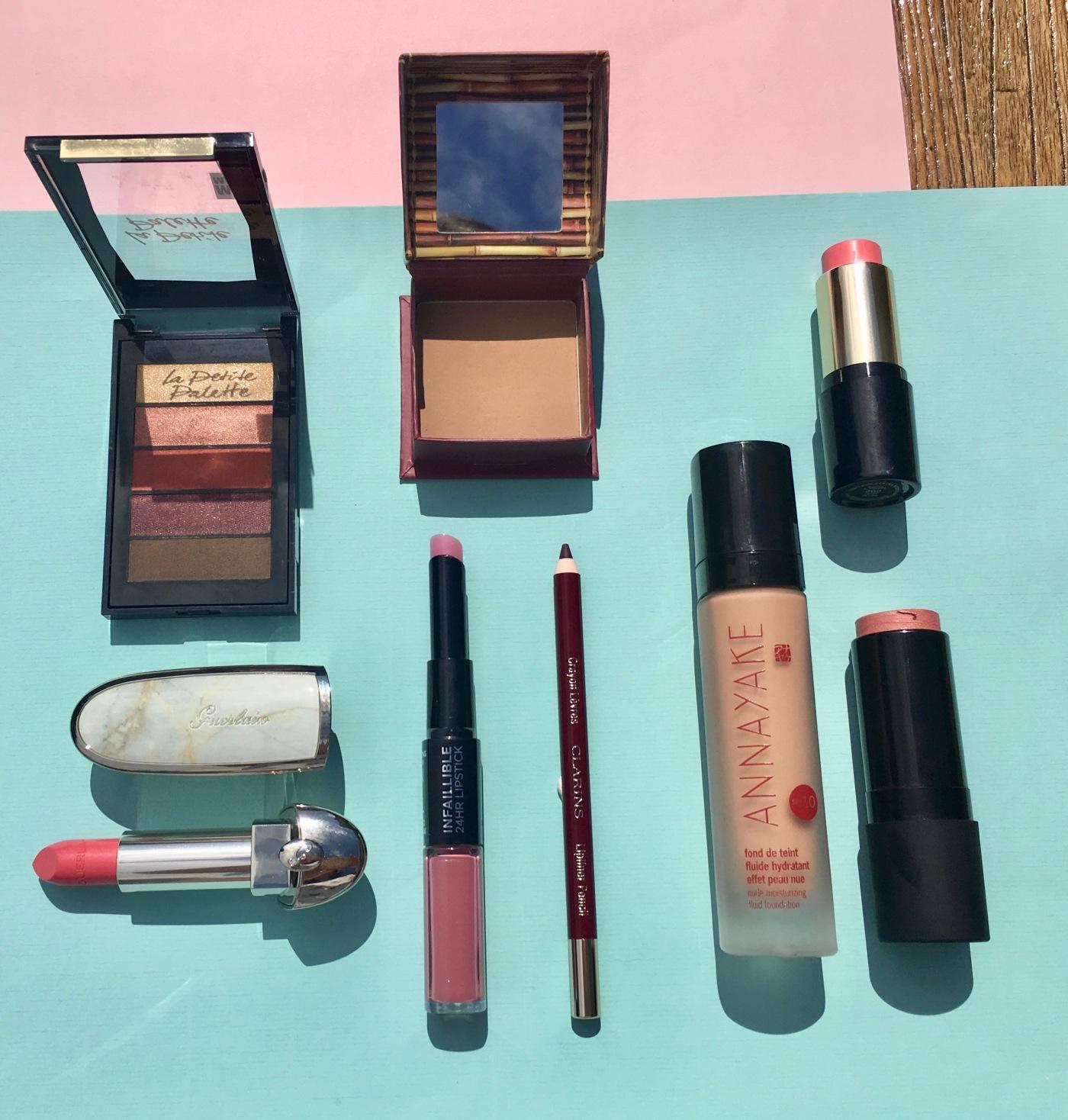 make-up orgasm nars la petite palette L'Oréal paris Guerlain Annayake Clarins Benefit Lancôme