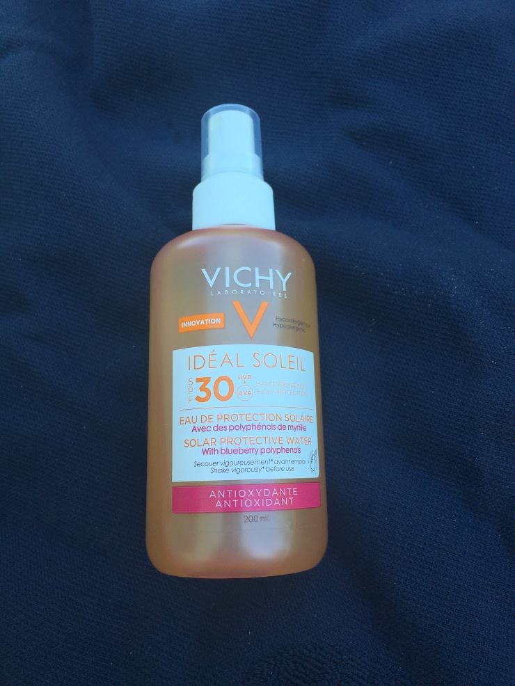 vichy idéal soleil solar protective water spf30