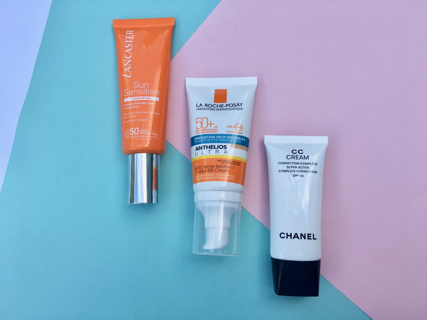 lancaster sun sensitive Anthelios Ultra La Roche-Posay CC Cream Chanel