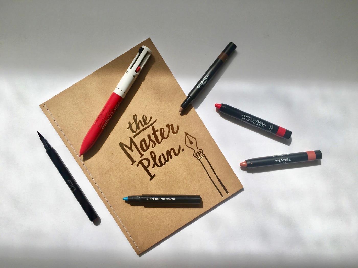 le rouge crayon chanel shiseido clarins dior