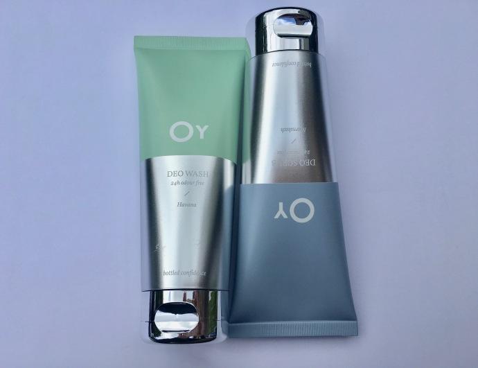 Oy deo wash deo scrub deodorant alternative