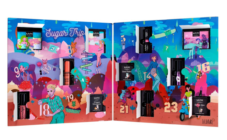 Sugar Trip 24 Days of Beauty Advent Calendar NYX