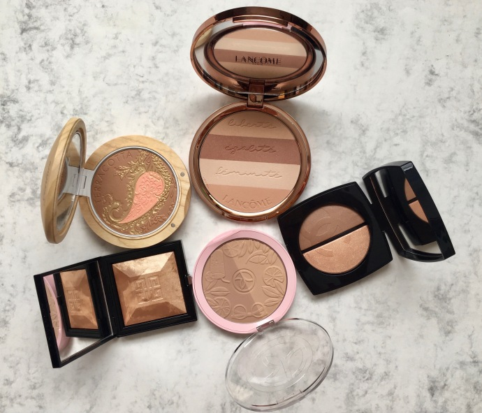 bronzer bronzing powder Terracotta Guerlain Chanel Givenchy Glow Powder Yves Rocher Chanel Lancôme