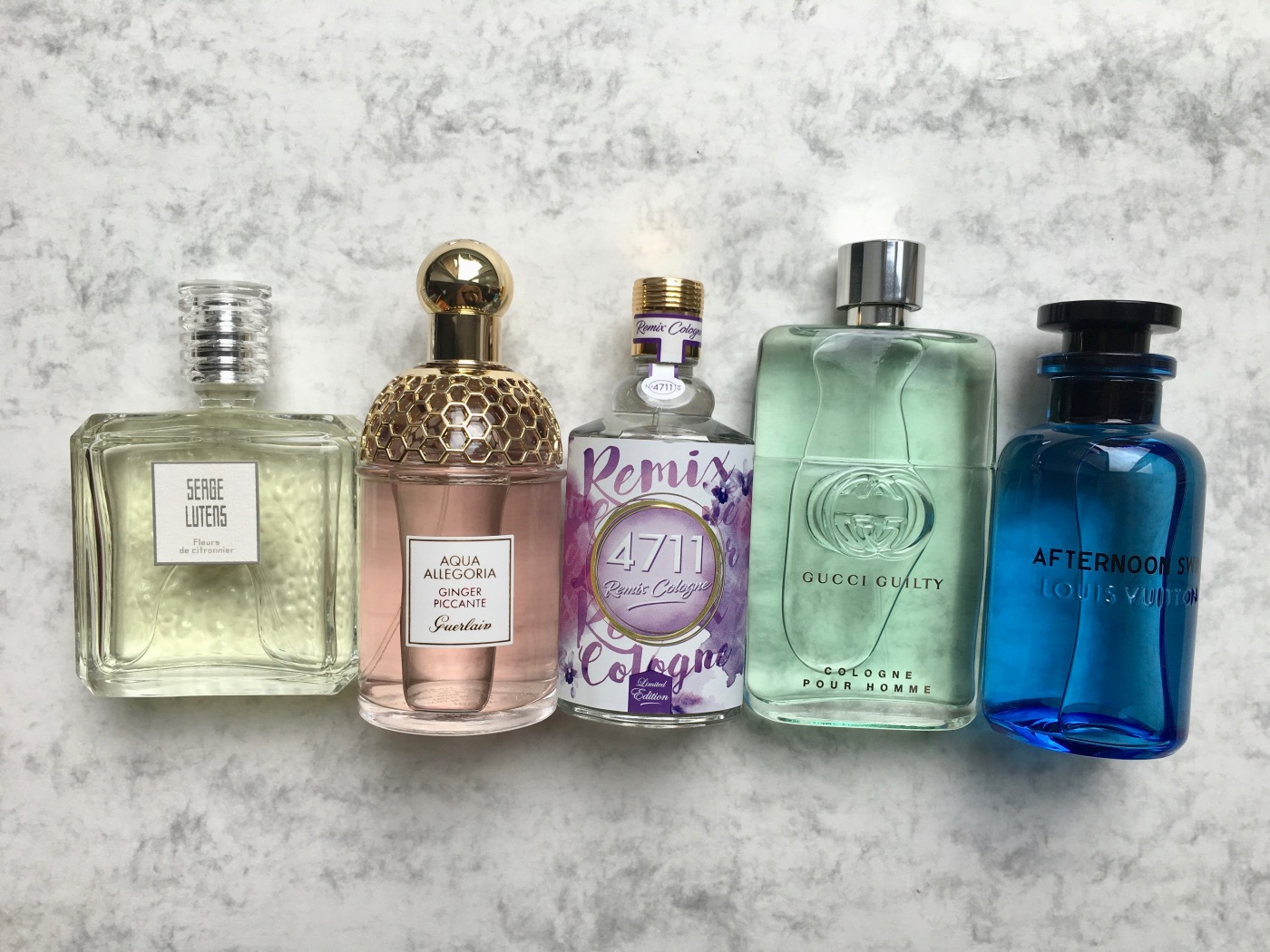 eau de cologne remix cologne 4711 aqua allegoria ginger piccante guerlain serge lutens fleurs de citronnier gucci guilty cologne afternoon swim louis vuitton