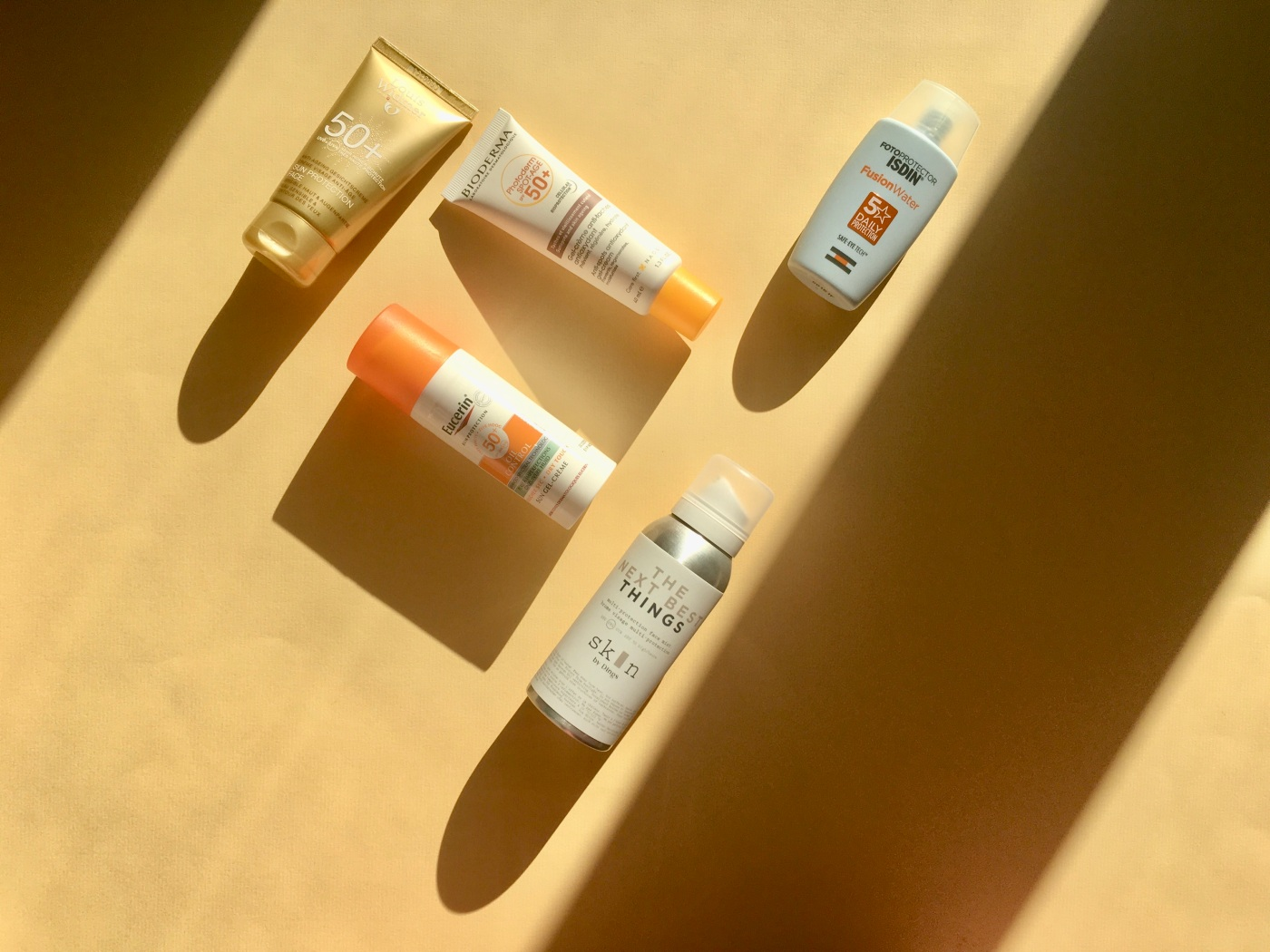 sunscreen face isdin fusionwater skin by dings the next best thing louis widmer bioderma eucerin