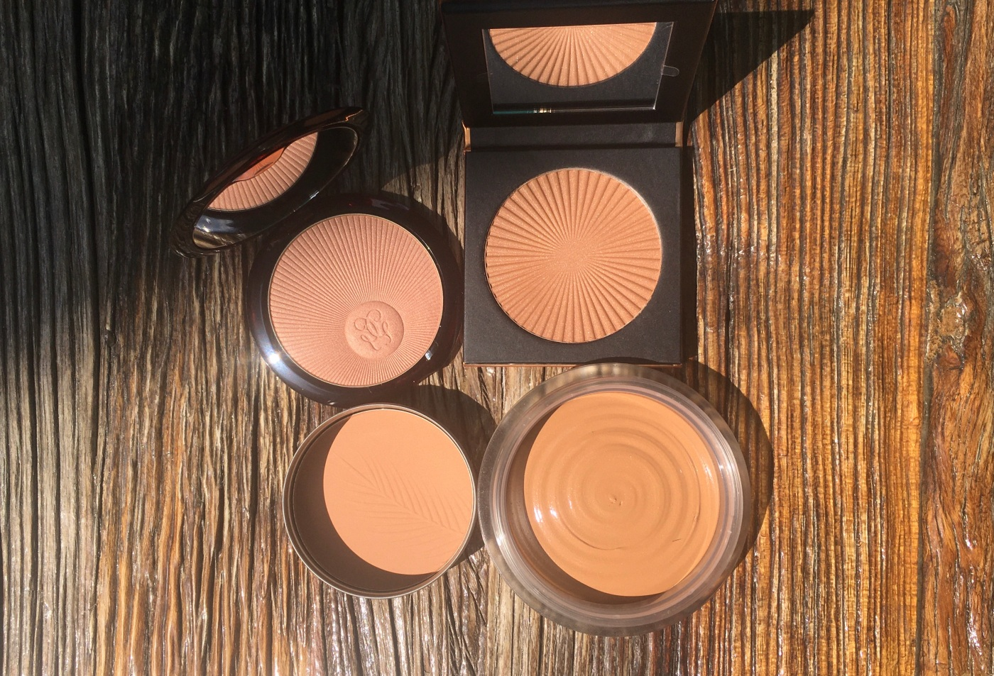 chanel terracotta guerlain the bodyshop be creative make-up bronzing powder bronzer
