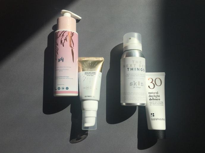 sunscreen Belgian skincare Self Rainpharma Skin by Dings Time Ici Paris XL