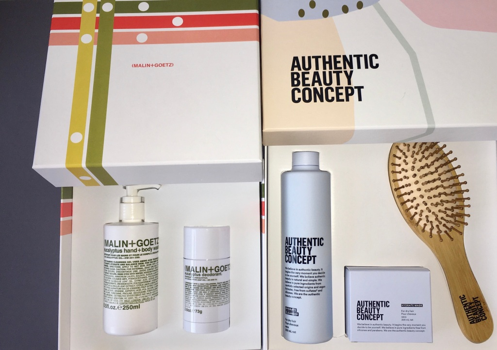authentic beauty concept christmas gift set malin+goetz