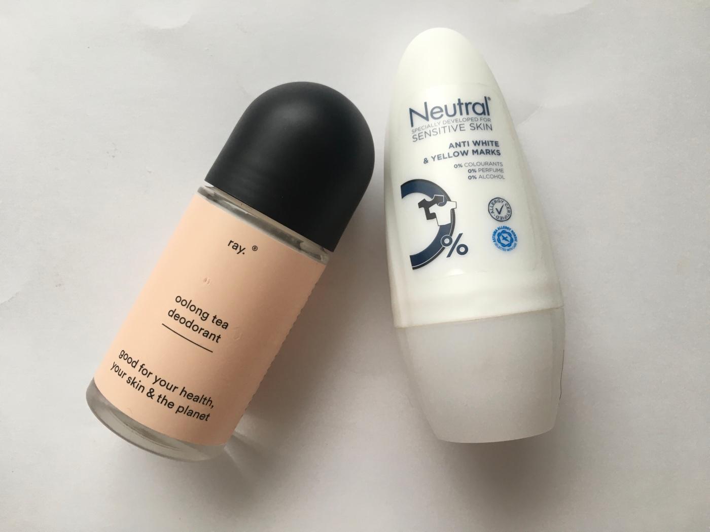 ray deodorant anti-tranpirant neutral