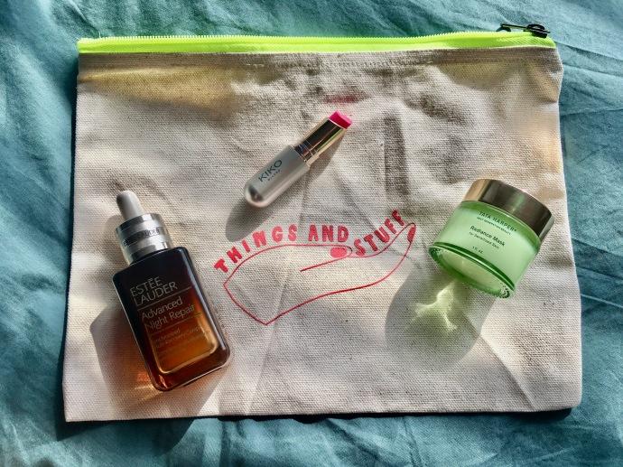 Estée Lauder Advanced Nigh Repair serum Kiko Milano Jelly Stylo Tata Harper Radiance Mask for Sensitized Skin